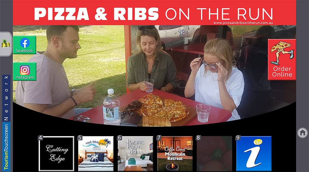 Pizza & Ribs on the Run