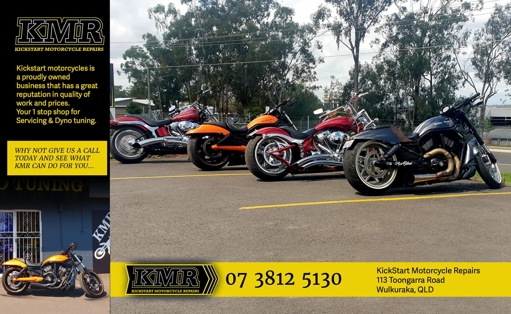 KMR Kickstart Motorcycle Repairs