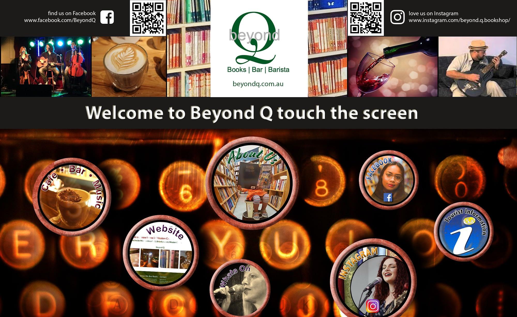 Beyond Q Cafe Touchscreen