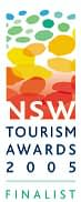 Finalist at the 2005 New South Wales Tourism Awards