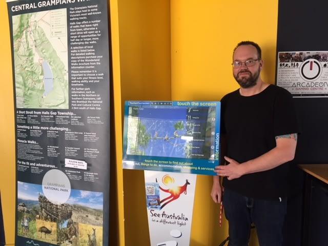 Jason Mean Manager Halls Gap Visitor Centre