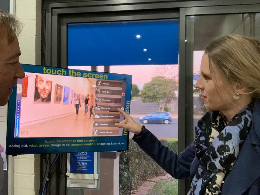 Inside Dubbo Visitor Information Centre