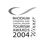 ACT Tourism Awards 2004
