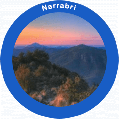 View of Mt Kaputar National Park