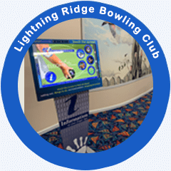 Touchscreen Photo at Lightning Ridge Bowling Club