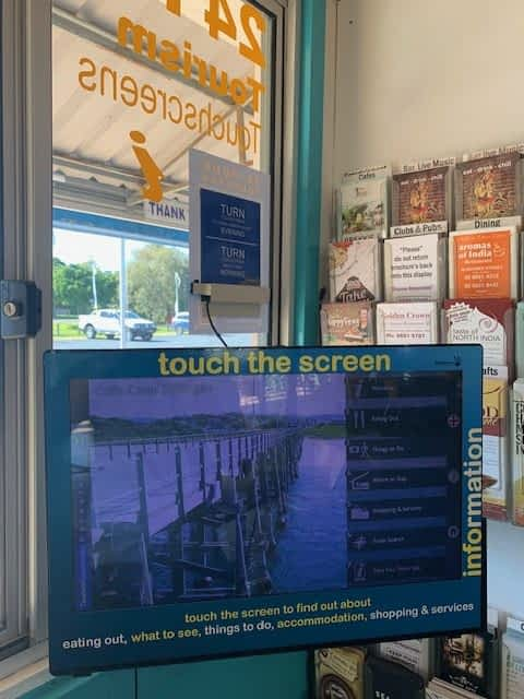 Dolphin Marine Conservation Park Touchscreen