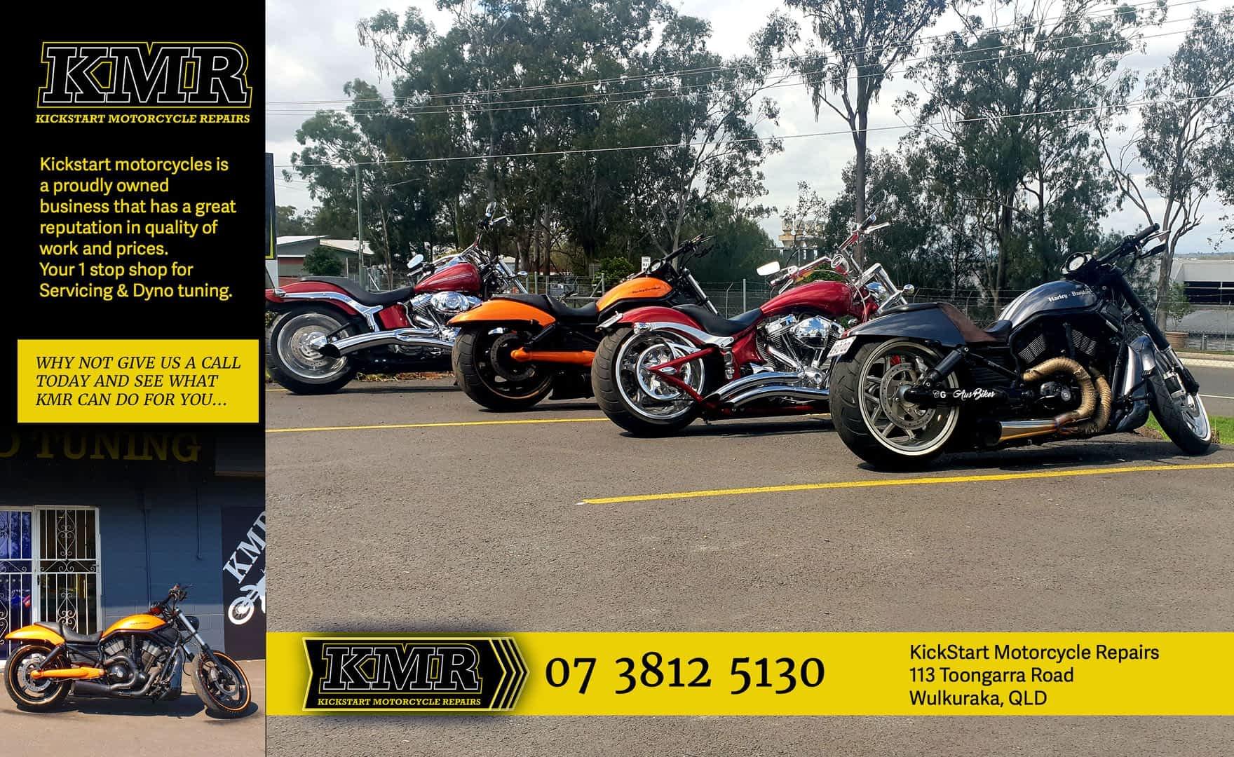 Kickstart Motorcycle