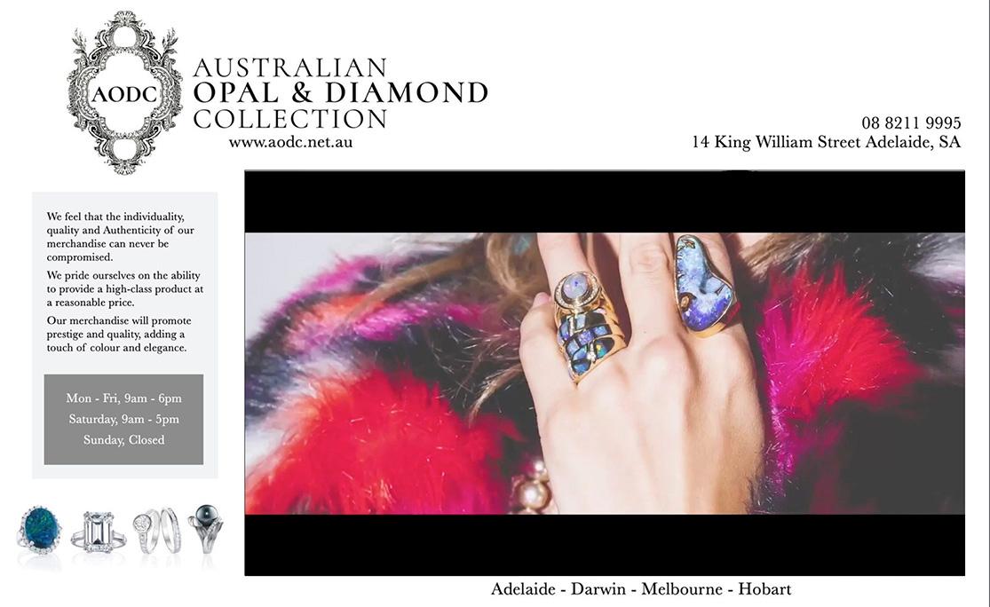 Australian Opal & Diamond Collection