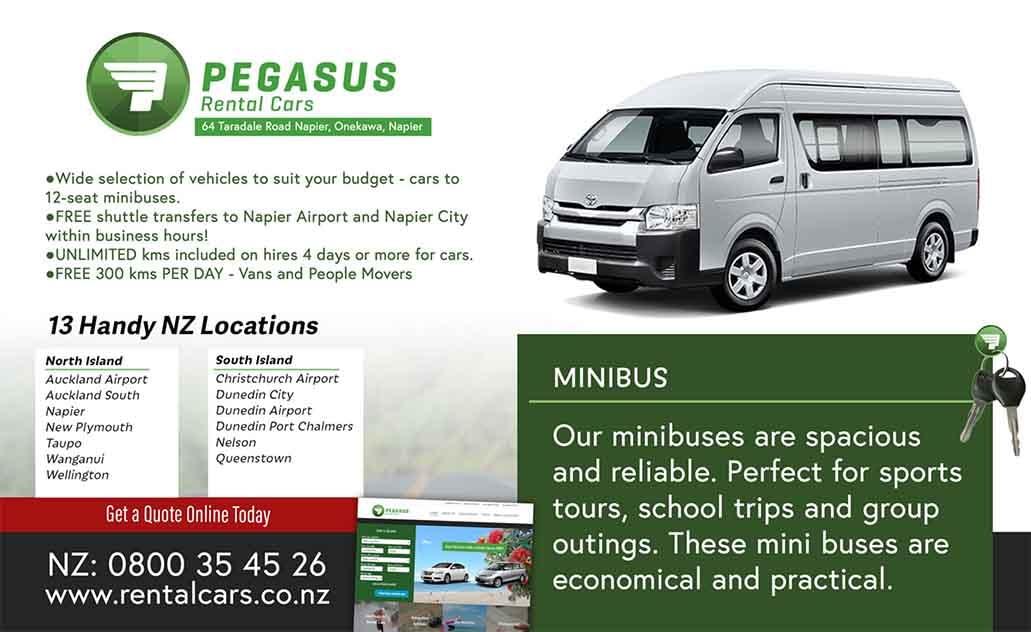 Pegasus Rental Cars Napier